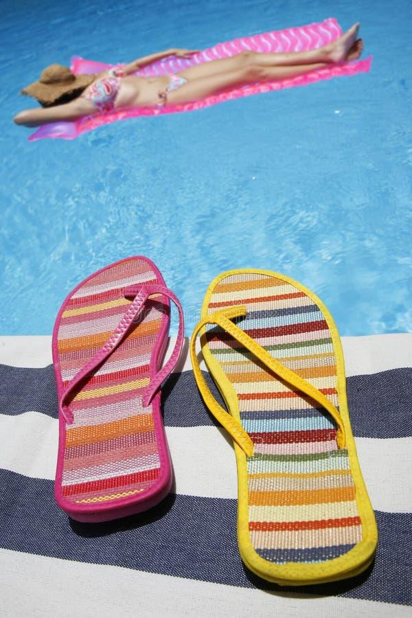 De Mening van de zomer stock afbeelding