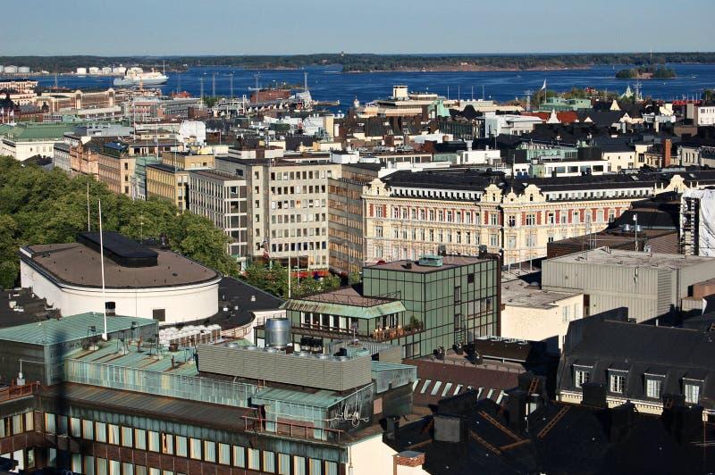 De mening van Helsinki royalty-vrije stock afbeeldingen