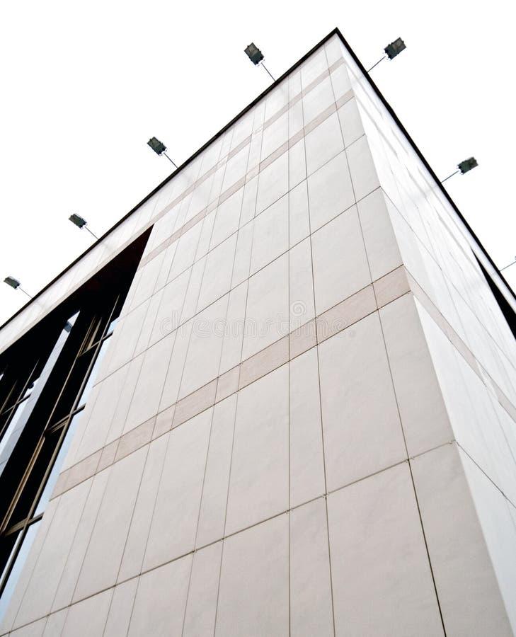 De mening van het perspectief van de collectieve bouw stock fotografie