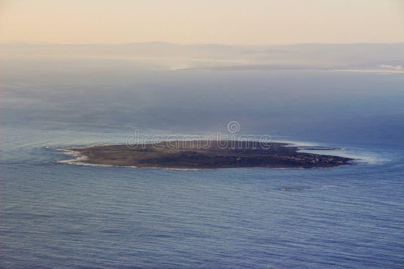 De Mening van het Robbeneiland van Lijstberg royalty-vrije stock foto