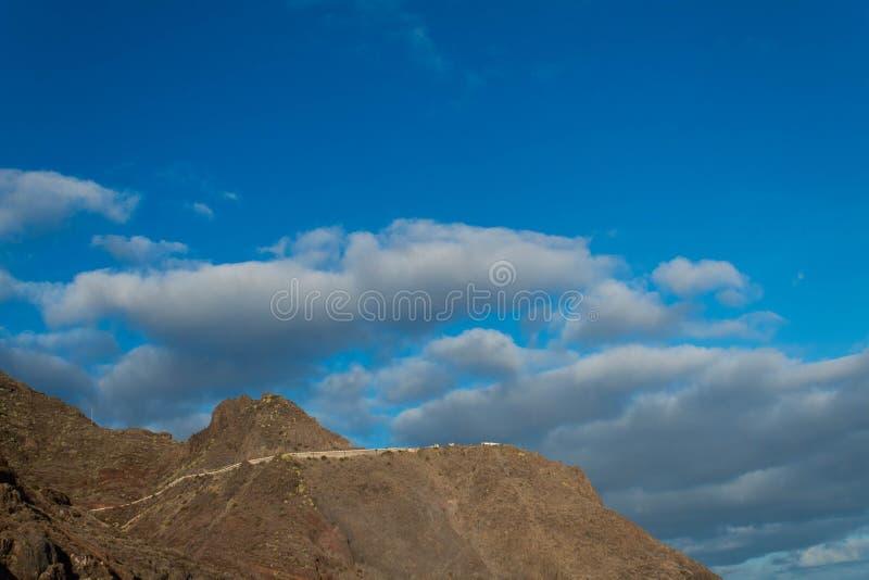 De mening van de het strandberg van Lasteresitas stock fotografie
