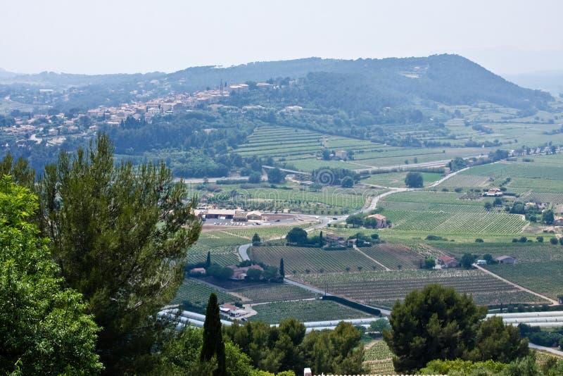 De mening van Le Castellet royalty-vrije stock afbeeldingen