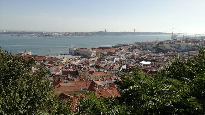 De Mening van Lissabon royalty-vrije stock afbeeldingen