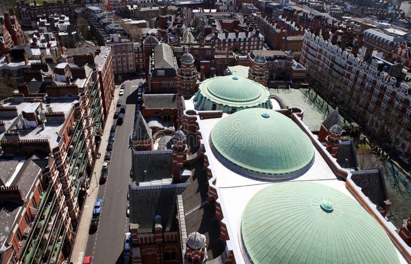 De mening van Londen van stad van Westminster royalty-vrije stock fotografie