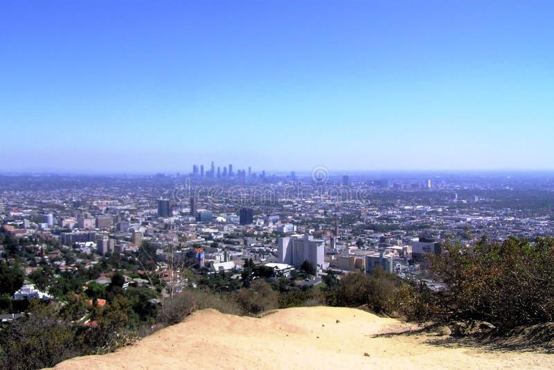 De Mening van Los Angeles stock foto's
