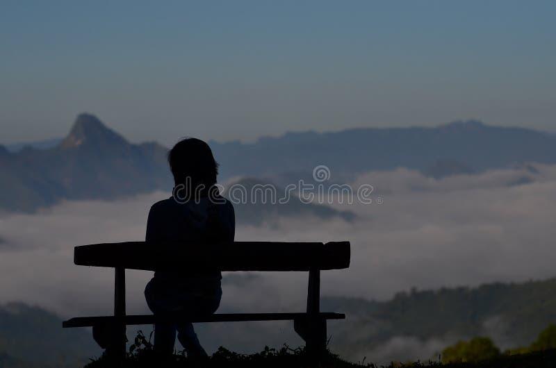 De mening van Monkruba Sai stock afbeeldingen