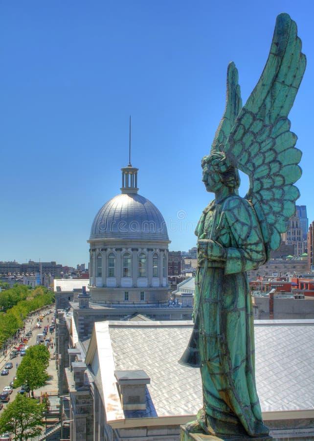 De mening van Montreal. royalty-vrije stock foto's