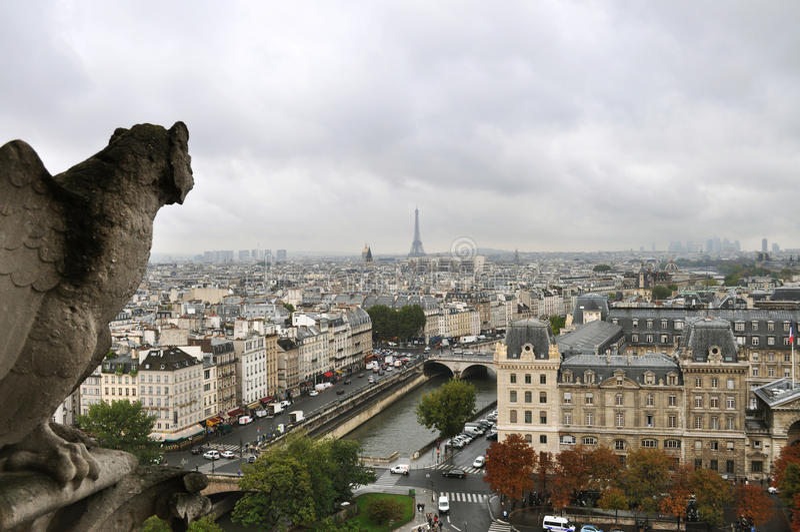 De mening van Parijs royalty-vrije stock afbeeldingen