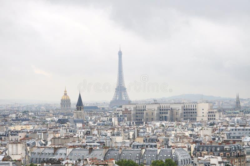 De mening van Parijs stock afbeeldingen