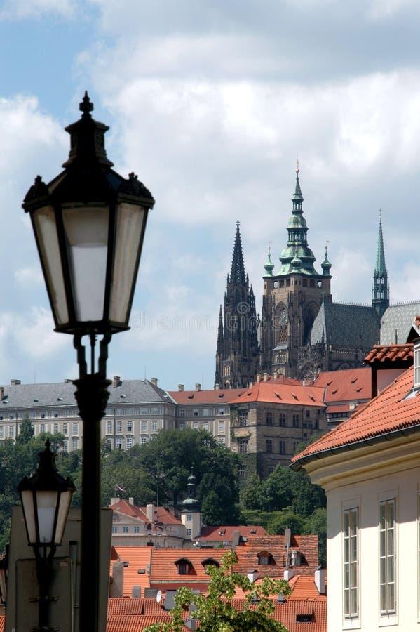 De mening van Praag royalty-vrije stock foto's