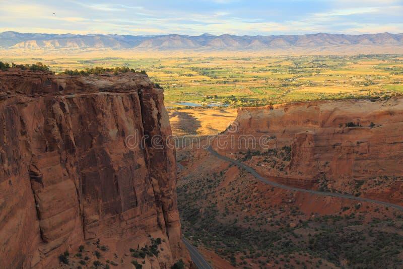 Het Nationale Monument van Colorado   stock afbeeldingen