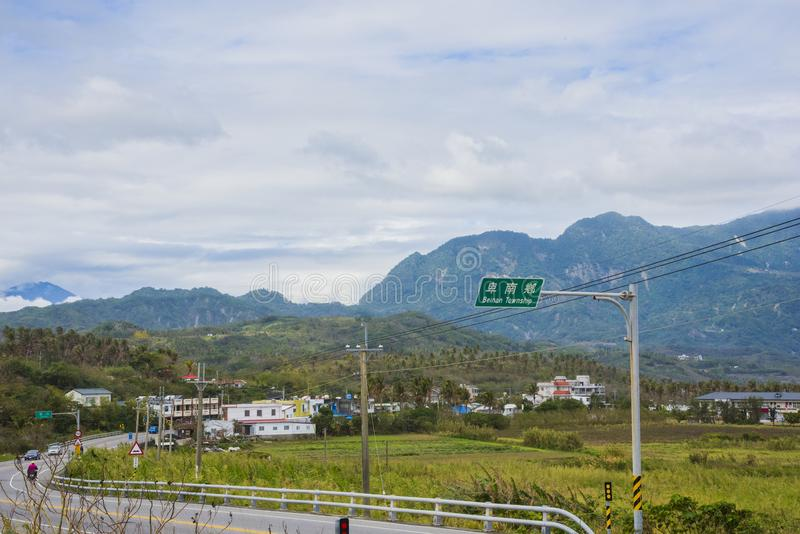 De mening van Taiwan stock fotografie