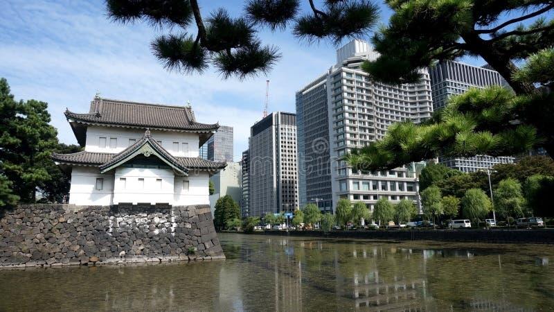 De mening van Tokyo royalty-vrije stock foto