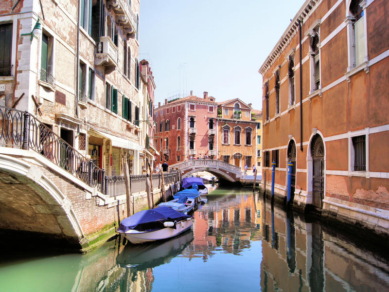 De mening van Venetië stock afbeeldingen