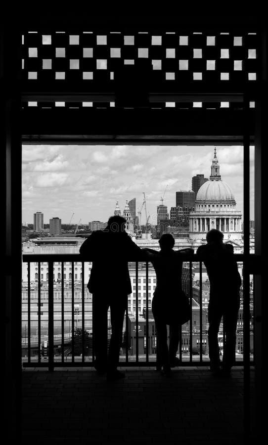De Meningen van Londen royalty-vrije stock afbeeldingen