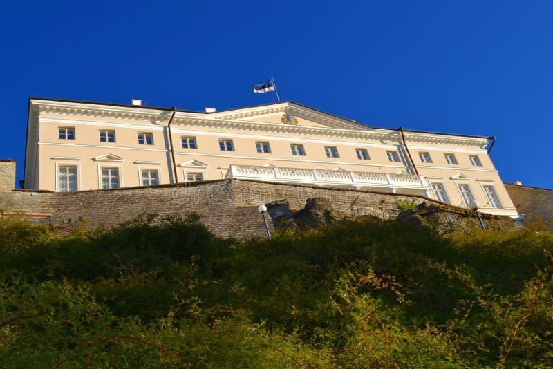 De menings oude stad van Tallinn Estland royalty-vrije stock afbeeldingen
