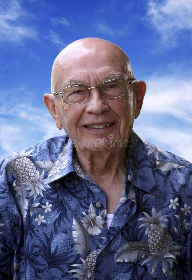 De mens van Balding royalty-vrije stock afbeelding