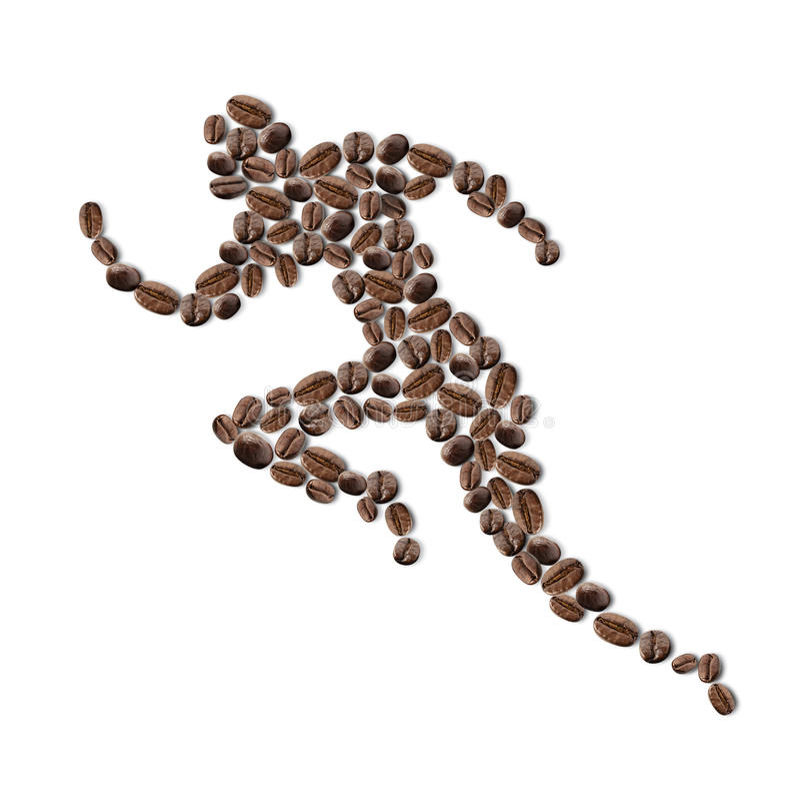 De mens van de koffie royalty-vrije stock fotografie