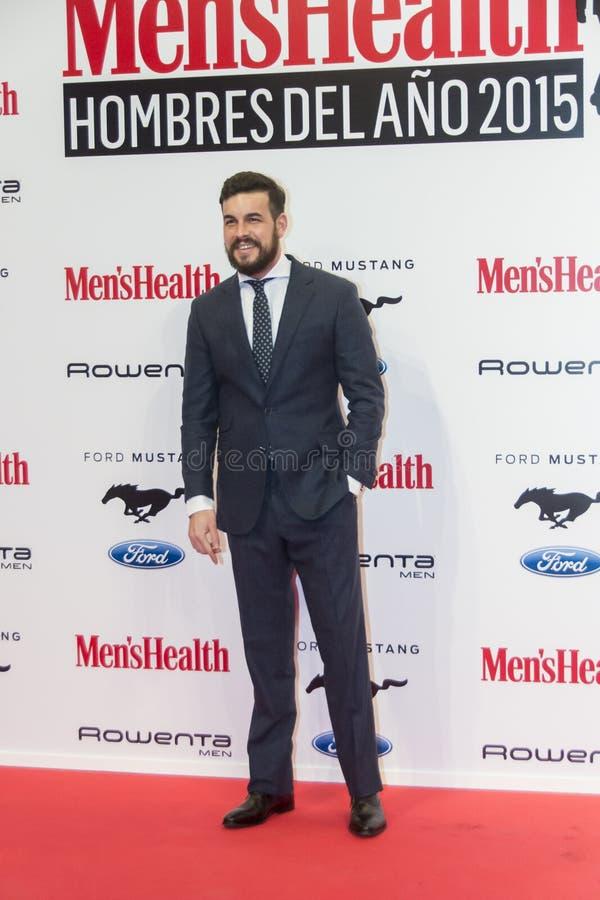 De Mens van de Men'sgezondheid van de Jaar 2015 Toekenning in Madrid, Spanje stock foto