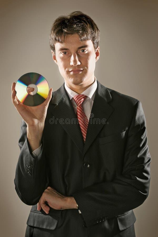 De mens van het bureau stock foto