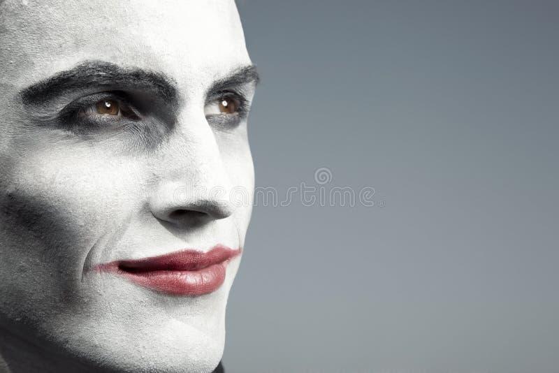 De mens van het circus royalty-vrije stock fotografie
