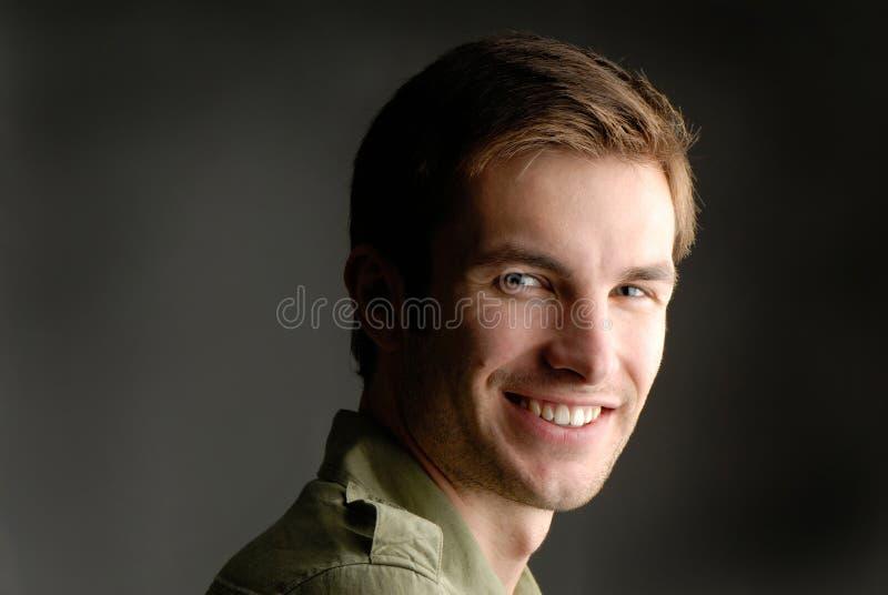 De mens van het portret stock foto's