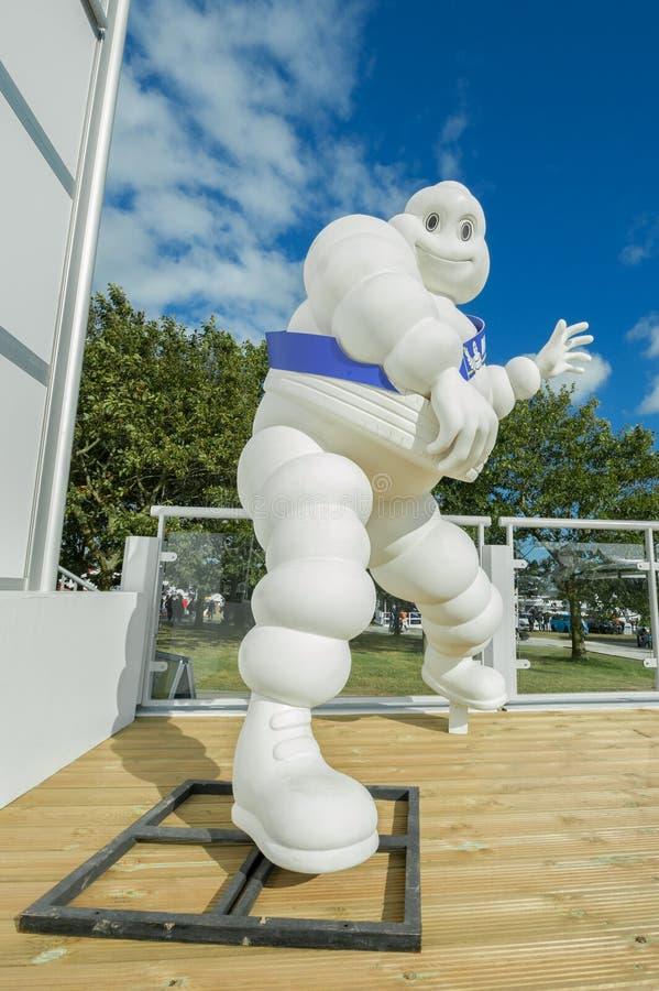 De Mens van Michelin stock afbeelding