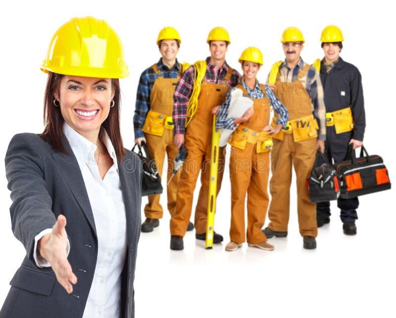 De mensen van arbeiders stock foto's