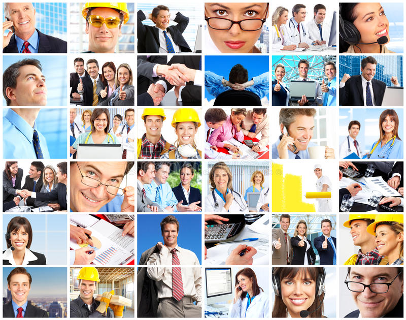 De mensen van arbeiders stock afbeeldingen