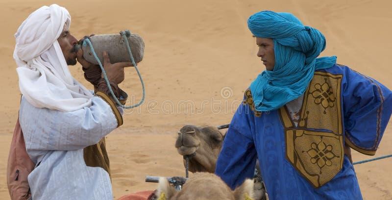 De mensen van Berber royalty-vrije stock afbeeldingen