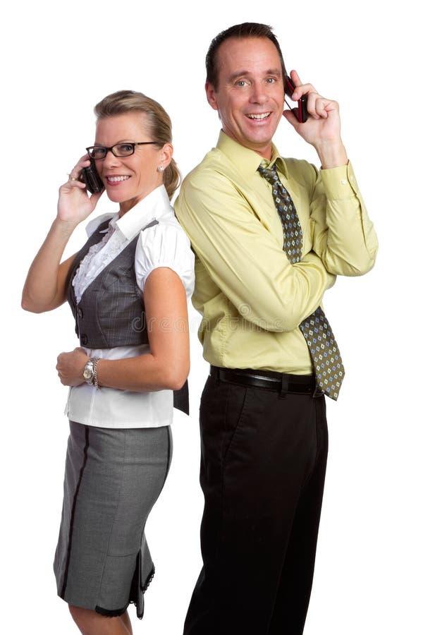 De Mensen van de telefoon royalty-vrije stock foto