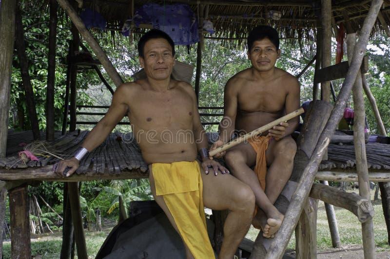 De Mensen van Embera royalty-vrije stock foto