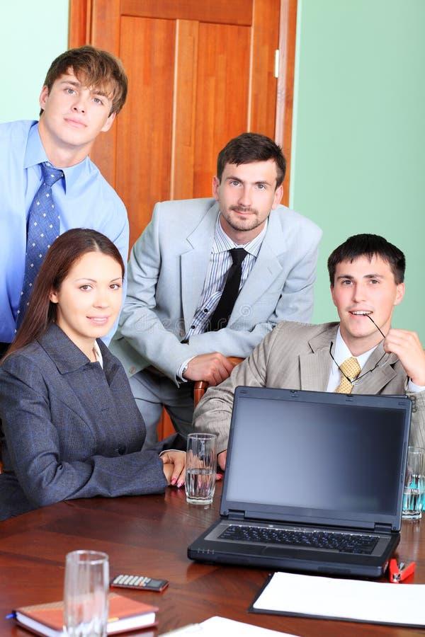 De mensen van het bureau royalty-vrije stock foto