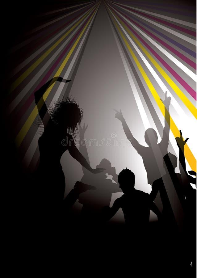 De Mensen van Partying vector illustratie