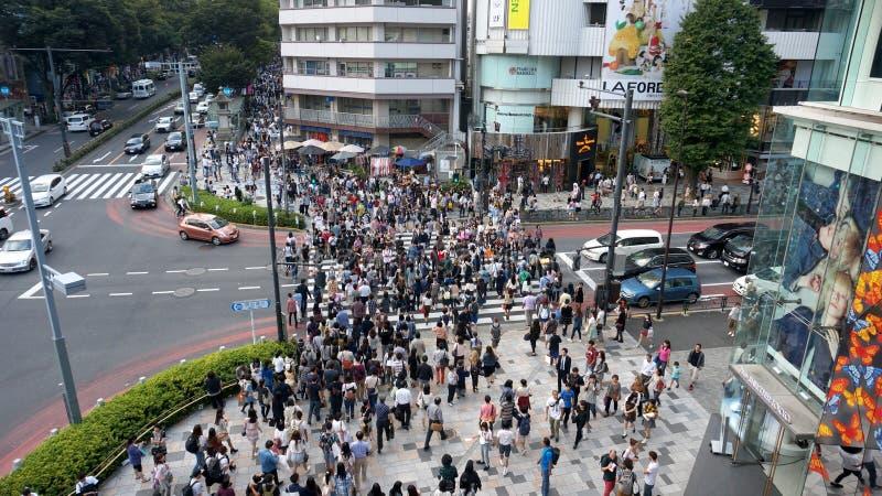 De mensen van Tokyo royalty-vrije stock fotografie