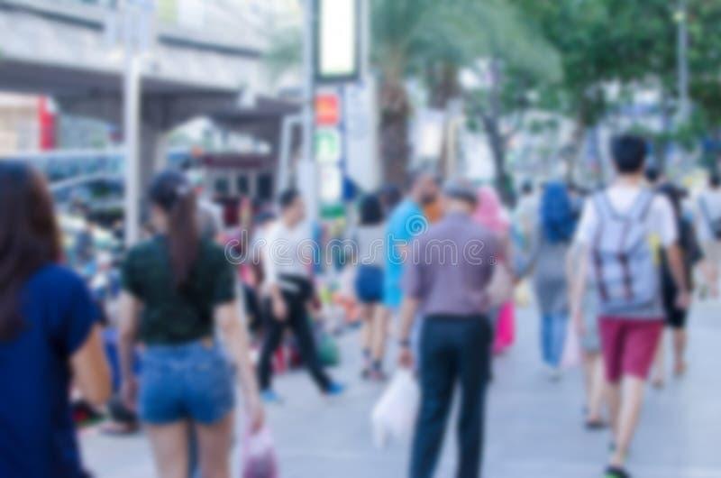 De mensen vertroebelen stock fotografie