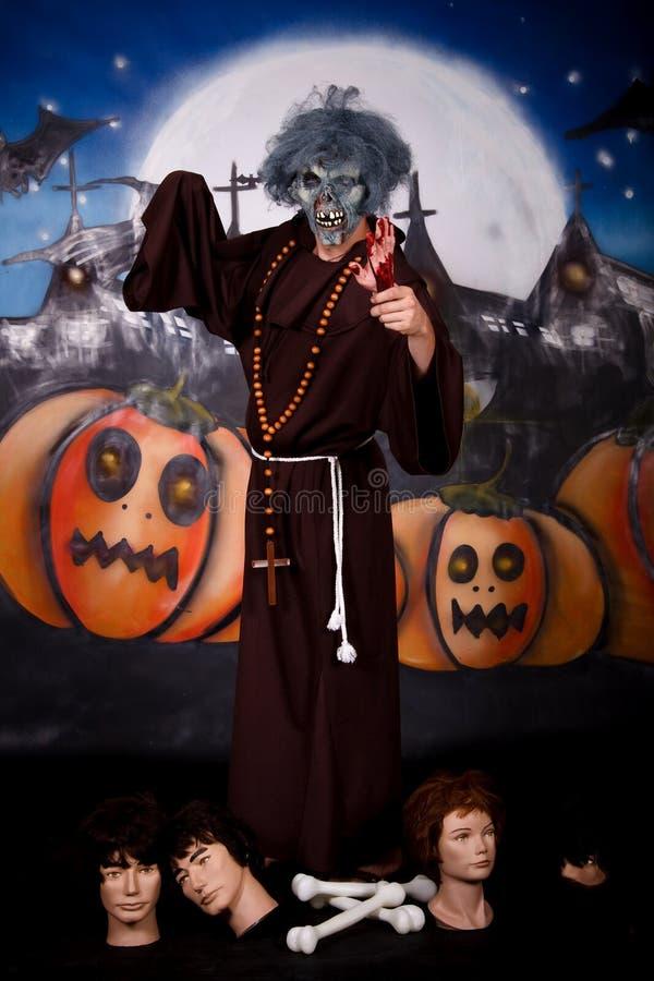 De mensenkarakter van Halloween stock afbeeldingen