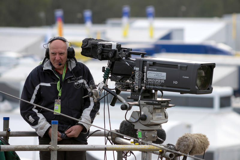 DE MERKEN BROEDEN, KENT/UK - 30 MAART UIT: Niet geïdentificeerde cameraman ongeveer stock afbeeldingen