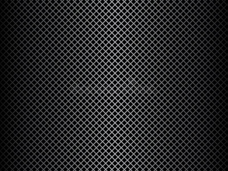 De metaal Achtergrond van het Netwerk stock illustratie