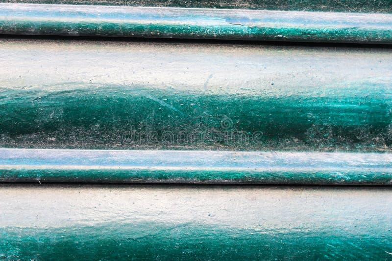 De metaalblindmuur sloot Patroonopslag Arhitecture stock foto's