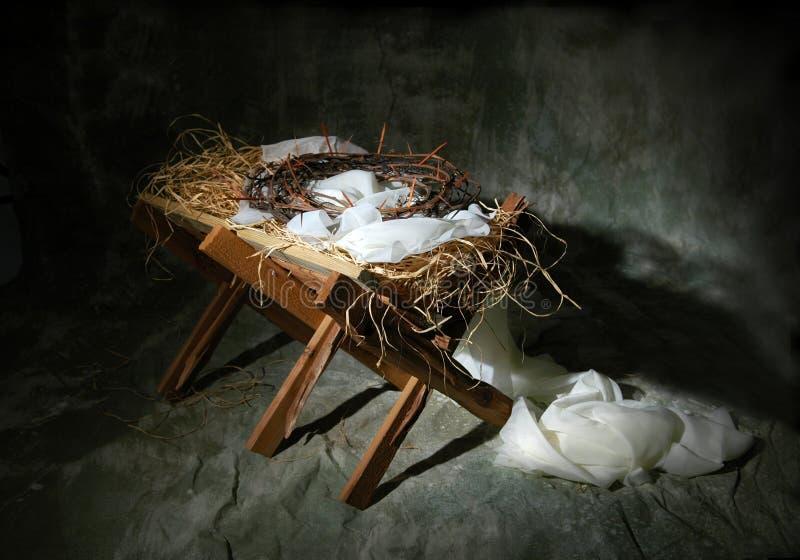 De Metafoor van het Verhaal van Kerstmis stock foto's