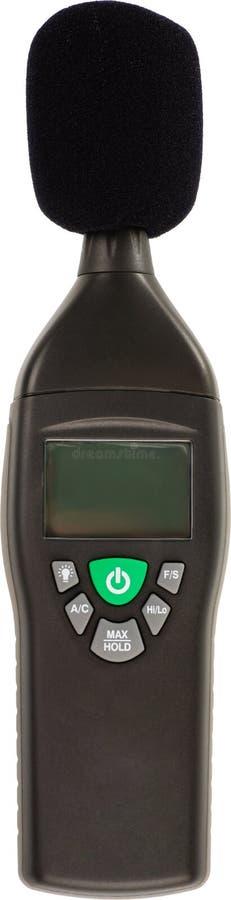 De meter van de decibel stock foto's