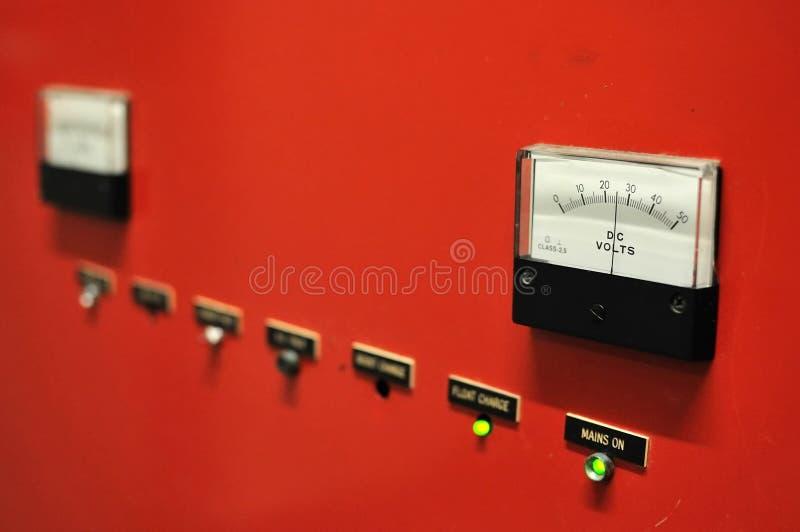 De meter van de elektriciteit royalty-vrije stock fotografie