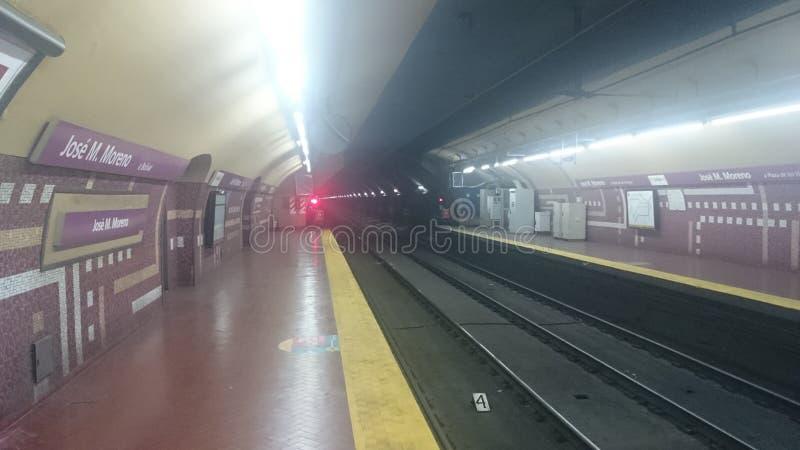 De Metro van Buenos aires royalty-vrije stock fotografie