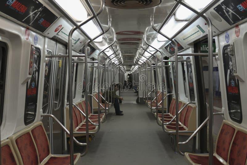 De Metro van Buenos aires (binnen) royalty-vrije stock fotografie
