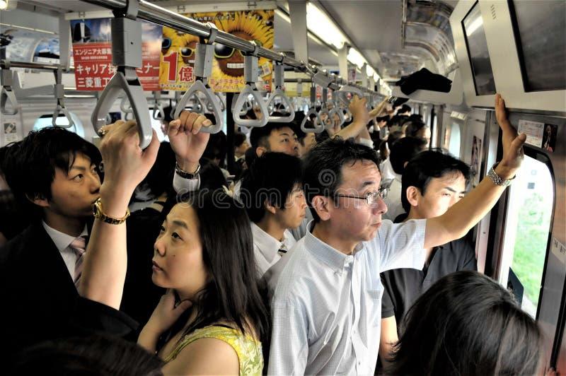De metro van Japan, Tokyo royalty-vrije stock foto