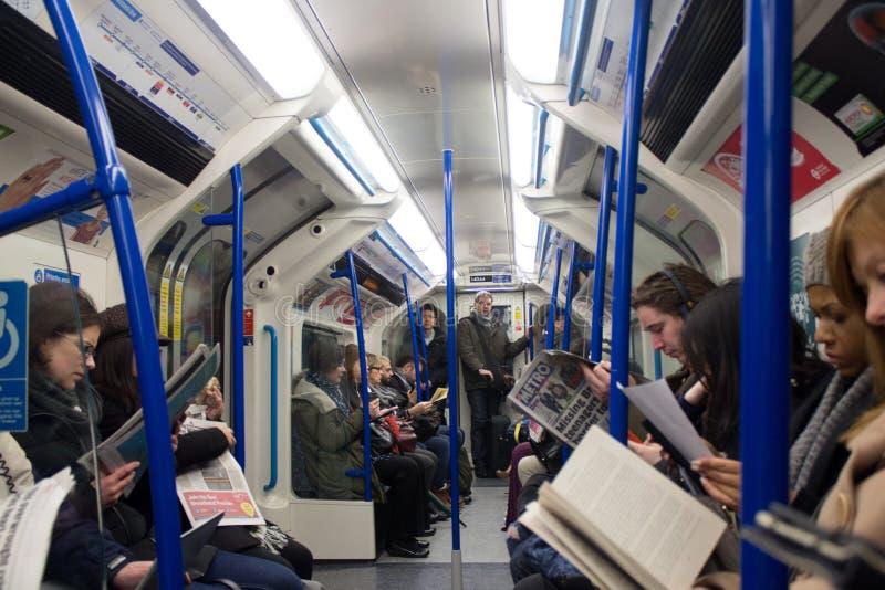 De Metro van Londen stock fotografie