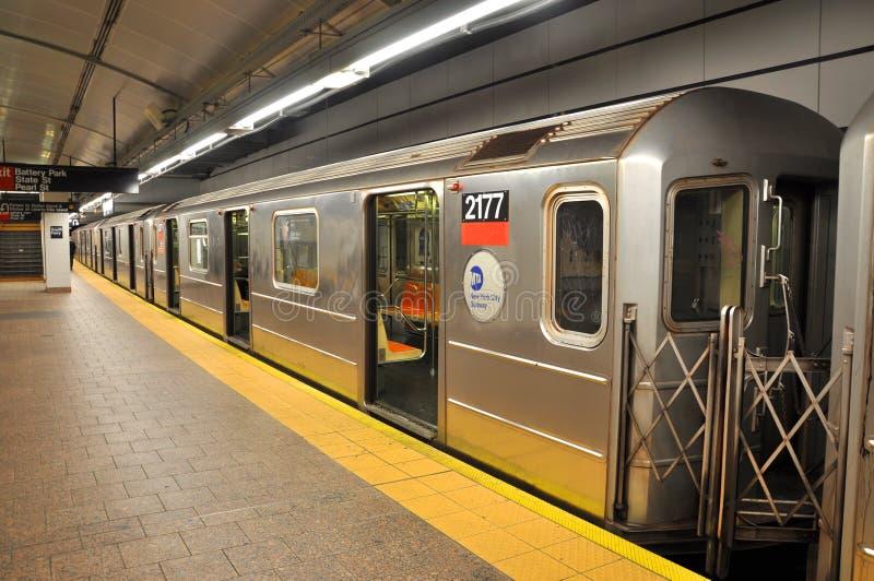 De metro van New York stock foto