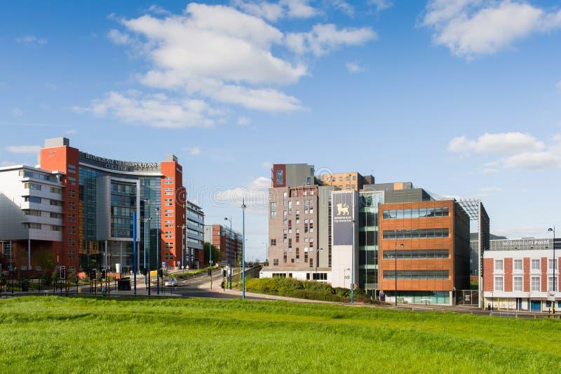De Metropolitaanse Collage van Birmingham royalty-vrije stock afbeelding