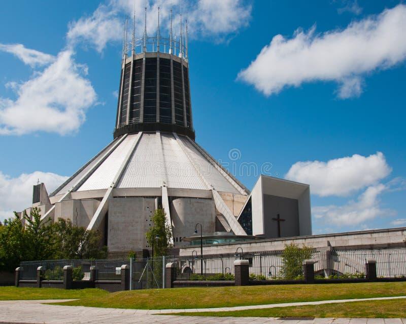 De Metropolitaanse Kathedraal van Liverpool royalty-vrije stock foto's